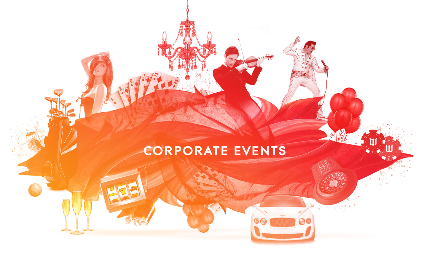 Corporate event entertainment & planning by Wildcard