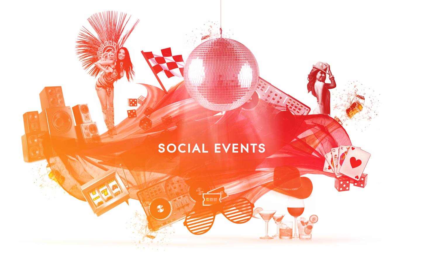 Social event entertainment & planning by Wildcard
